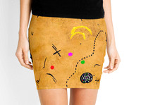Miro is my Hero     Pencil Skirts by Andy Mercer   Redbubble