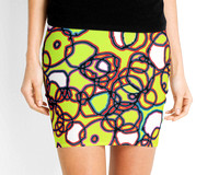 Random Cells   Pencil Skirts by Andy Mercer   Redbubble