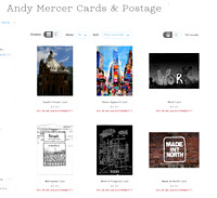 Andy Mercer Greetings Cards