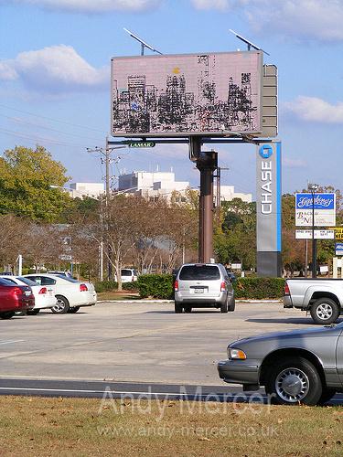Baton Rouge Billboard Art Project Andy Mercer  (2) by The Billboard Art Project